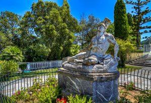 Achilles, Achillion palace Corfu island - Corfu Tours