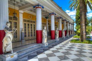 Achillion palace, Corfu Sightseeing