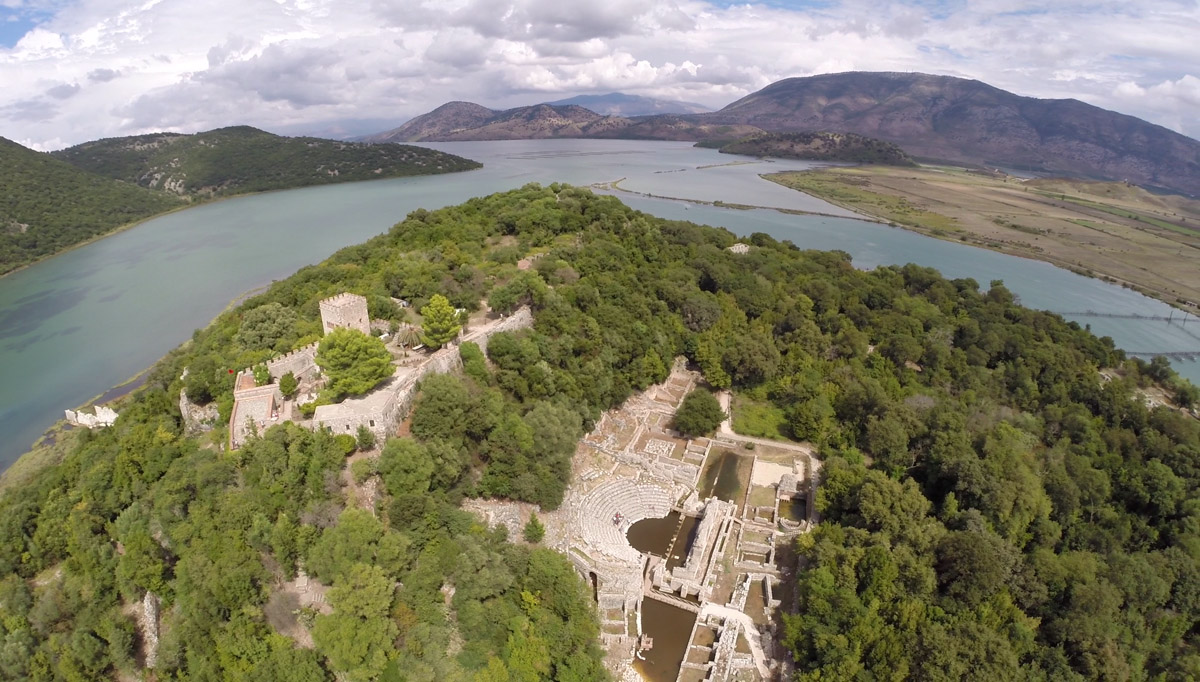 Butrint National Park, Albania - Travel from Corfu to Albania