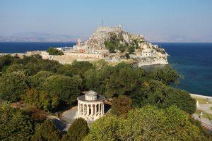 Corfu Esplanade Square, Day tour from Saranda City